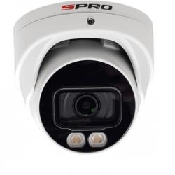 SPRO IP Camera, NIGHT COLOR, 4MP Camera, ingebouwd microfoon, IR bereik van 30 meter, DHIPD40-28LW-30M-M