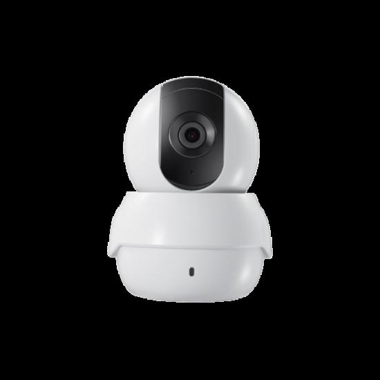 Safire / HikVision, PTZ (bedienbare), Wifi binnen camera, 2MP Camera met een 2,8lens, mee luisteren en terug praten, IR bereik van 10 meter, SF-IPPT111A-2E-W