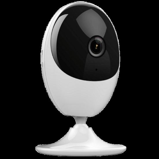 Safire / HikVision, Wifi binnen camera, 2MP Camera met een 2,8lens, mee luisteren en terug praten, IR bereik van 10 meter, SF-IPCU201A-2E-W