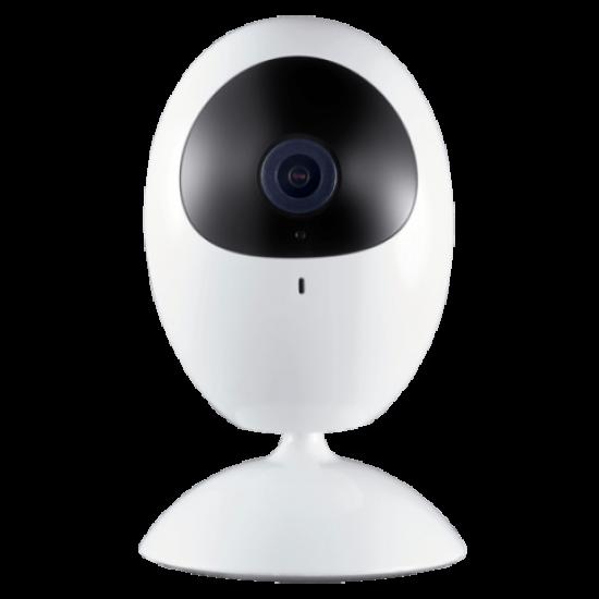 Safire / HikVision, Wifi binnen camera, 2MP Camera met een 2,8lens, mee luisteren en terug praten, IR bereik van 10 meter, SF-IPCU201HA-2E-W