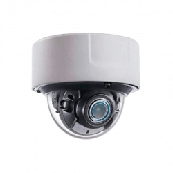 Safire, 4MP Camera met een 2,8 ~ 12 mm gemotoriseerde autofocus / WDR-lens, ingebouwd mircofoon, IR bereik van 30 meter, SF-IPD938ZWHA-4U-FACE