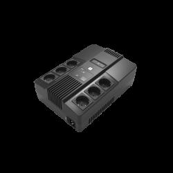 UPS backup batterij 600VA met 6 backup uitgangen, UPS600VA-6