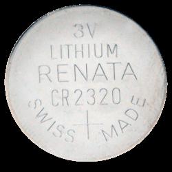 CR 2020 batterij, 3V Lithium, per 10 Stuks, BATT-CR2320