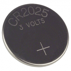 CR 2025 batterij, 3V Lithium, per 10 Stuks, BATT-CR2025