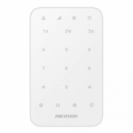 AxPro HikVision Draadloos Bedieningspaneel, DS-PK1-E-WE