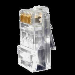 UTP Connector Cat 5e, zak van 10 Stuks,  CON300-CAT 5