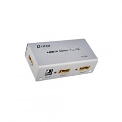 HDMI Splitter met 4 uitgangen, 4K resolutie, HDMI-splitter-4-4K