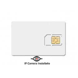 Backup Simkaart 30MB per maand, voor uw alarm systeem, onze router kunt u hier ook aan koppelen.