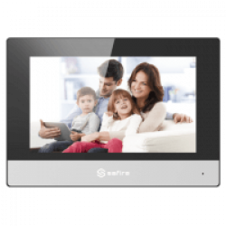 Safire / Hikvision,WIFI intercom beeldscherm, 7inch, SF-VIDISP01-7WIP