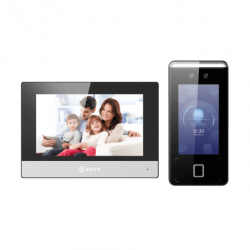 Safire / Hikvision,gezichtsherkenning, intercom systeem complete set, SF-VIK009-S-IP-GEZICHT